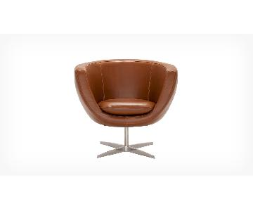 EQ3 Tub Chair in Leather