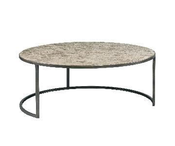 Lillian August Modern Collection Circular Cocktail Table