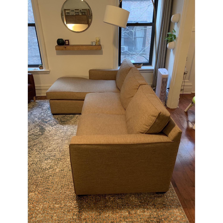 Crate & Barrel Davis 2 Piece Sectional Sofa-1