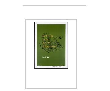 Damien Hirst Signed Framed Lithograph