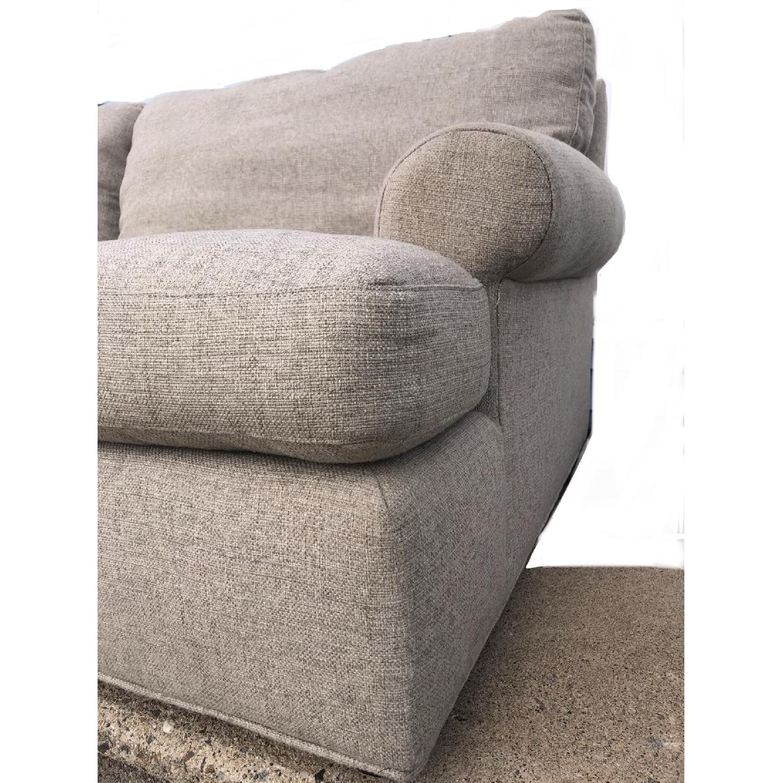 Crate & Barrel Ellyson Sofa in Gray-1