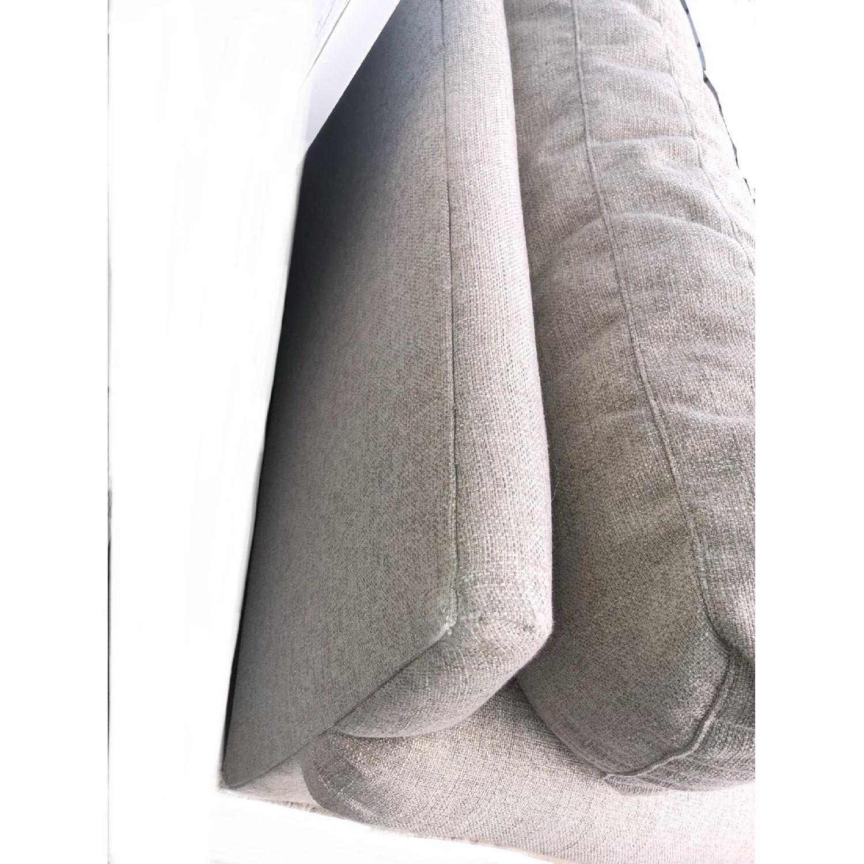 Crate & Barrel Ellyson Sofa in Gray-3
