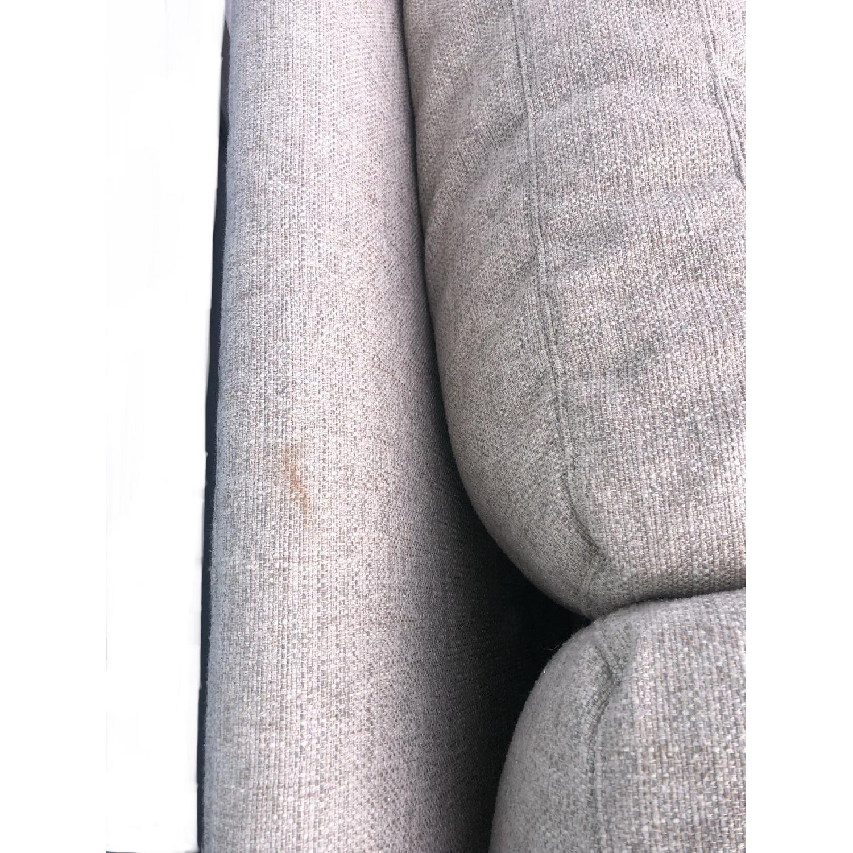 Crate & Barrel Ellyson Sofa in Gray-4