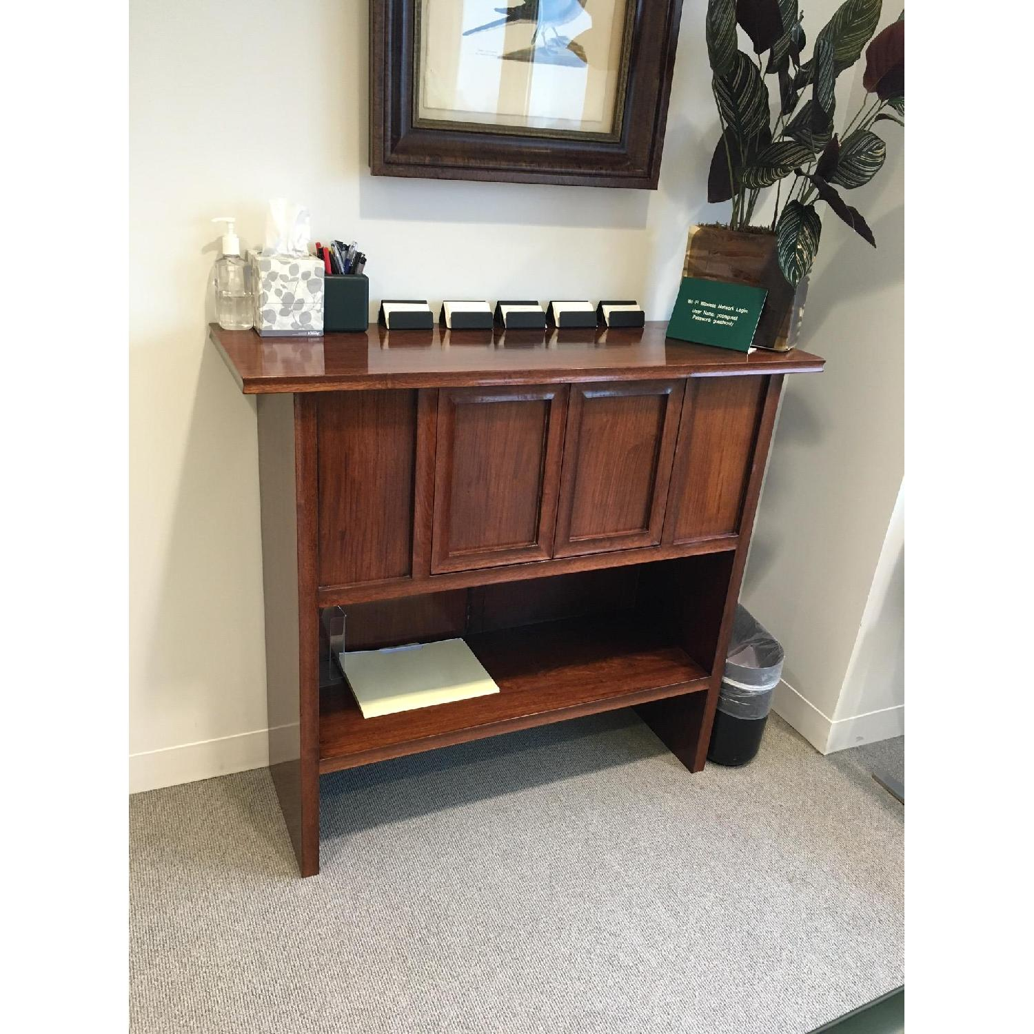 Solid Wood Credenza - image-1