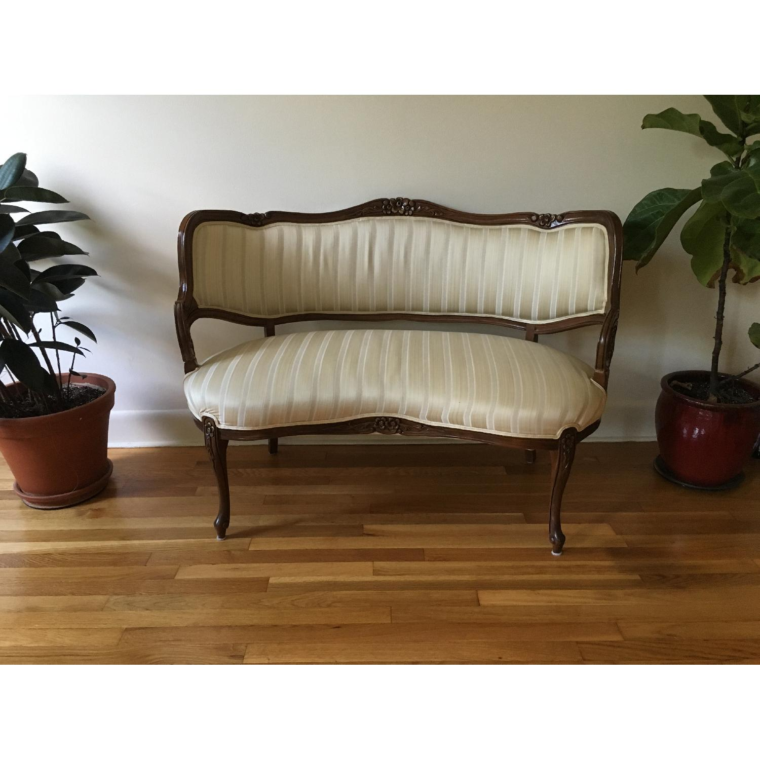Vintage French-Style Loveseats - image-1