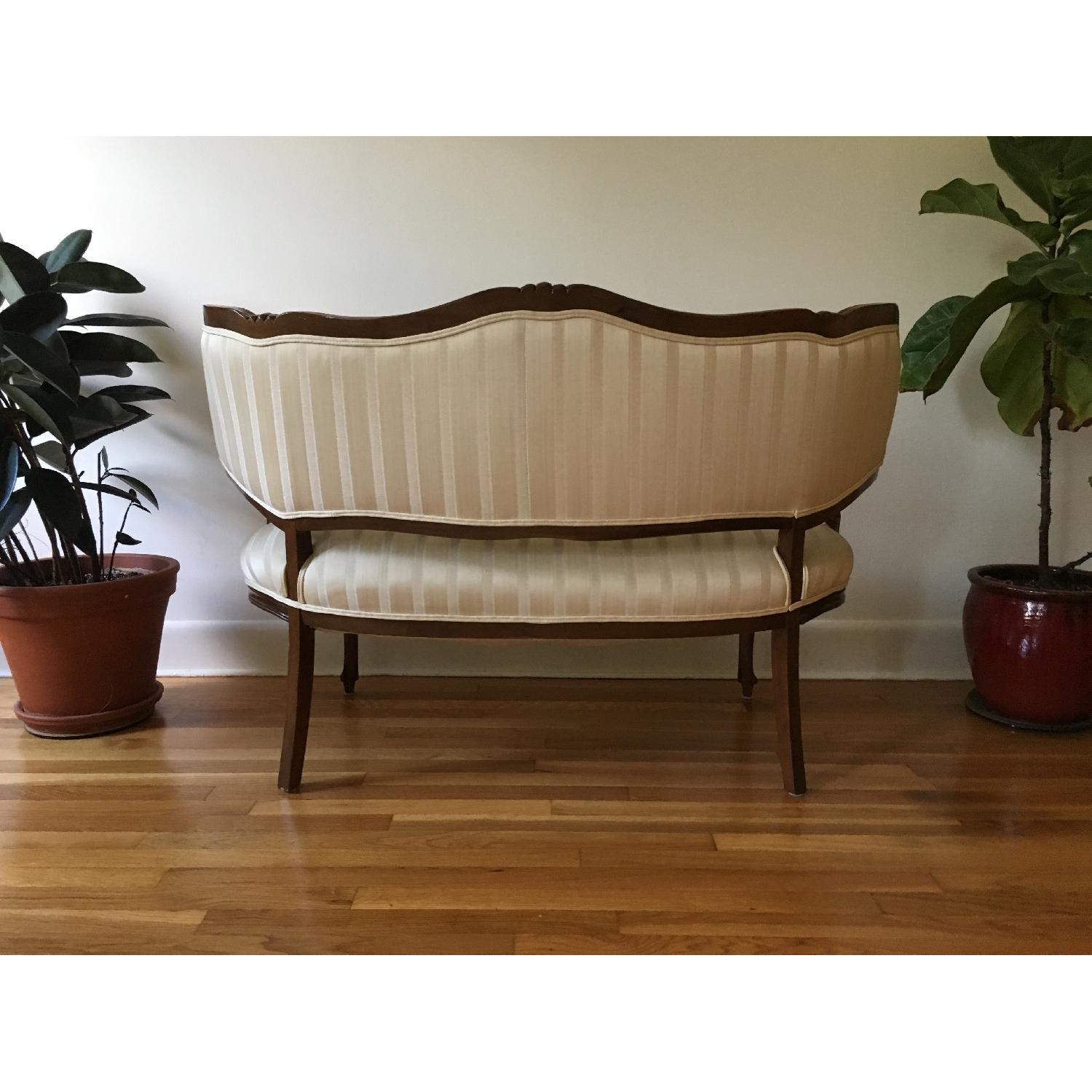 Vintage French-Style Loveseats - image-4