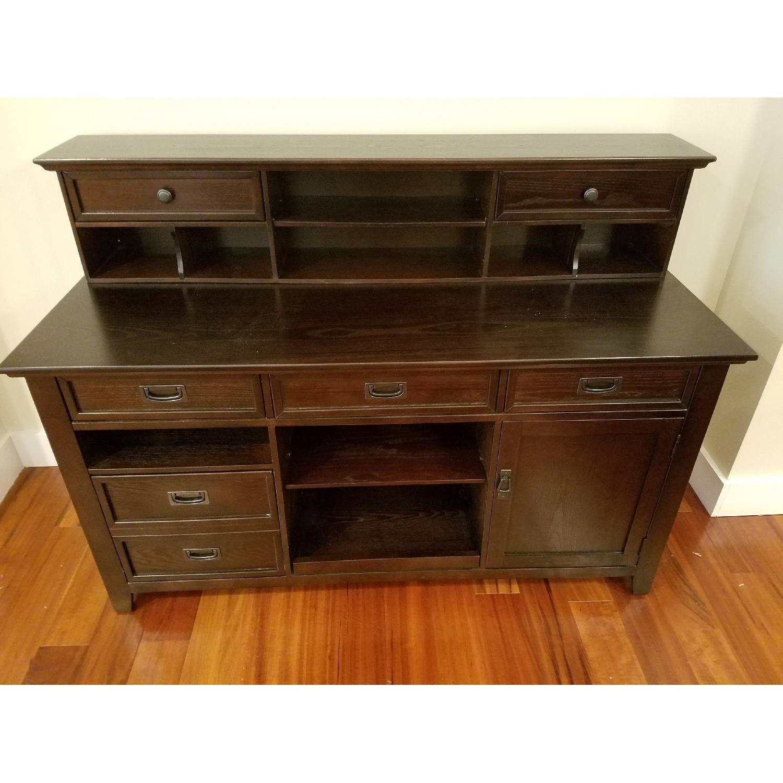 Steve Silver Company Desk w/ Multiple Drawers - image-1