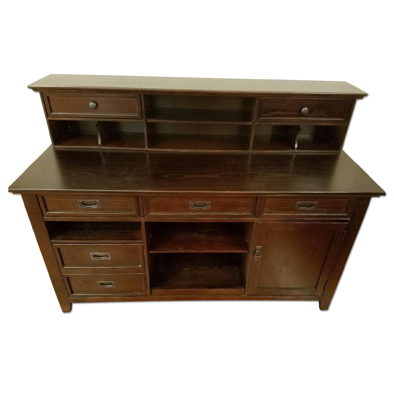 Steve Silver Company Desk w/ Multiple Drawers - image-0