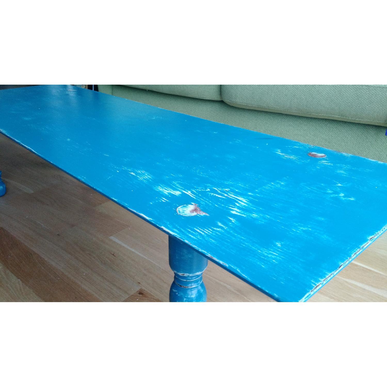 Cobalt Blue Coffee Table - image-2