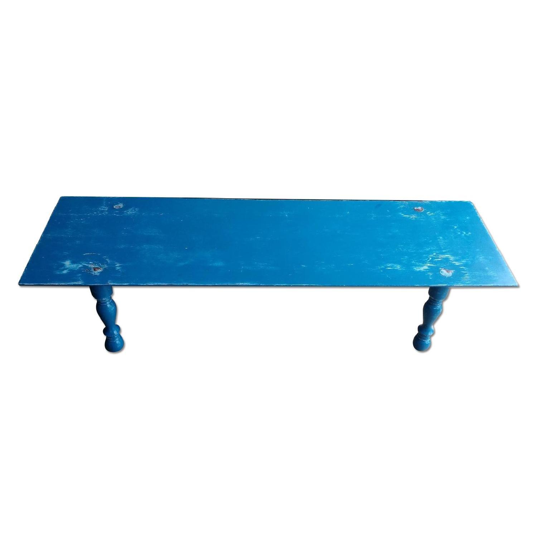 Cobalt Blue Coffee Table - image-0