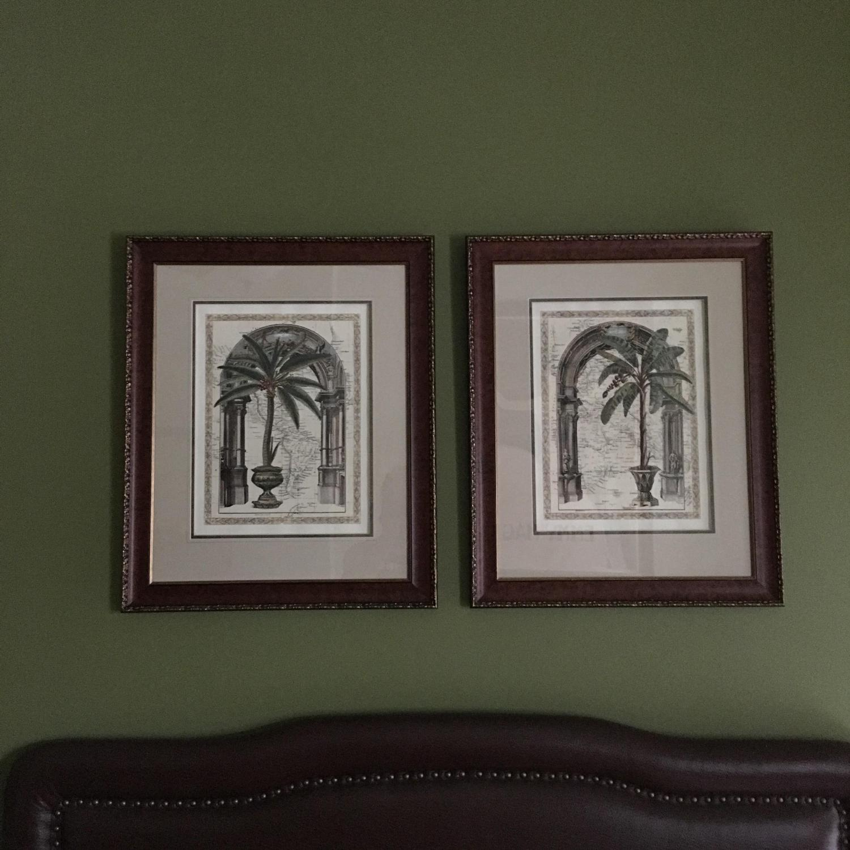 Palm Tree Framed Art - image-1