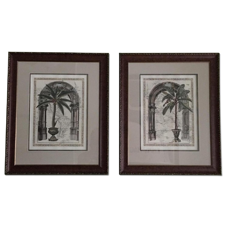 Palm Tree Framed Art - image-0