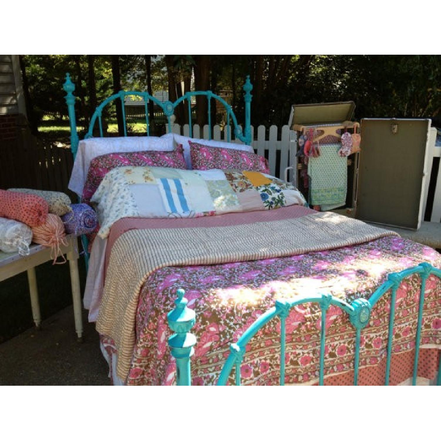 Full Sized Vintage Bed Frame - image-1