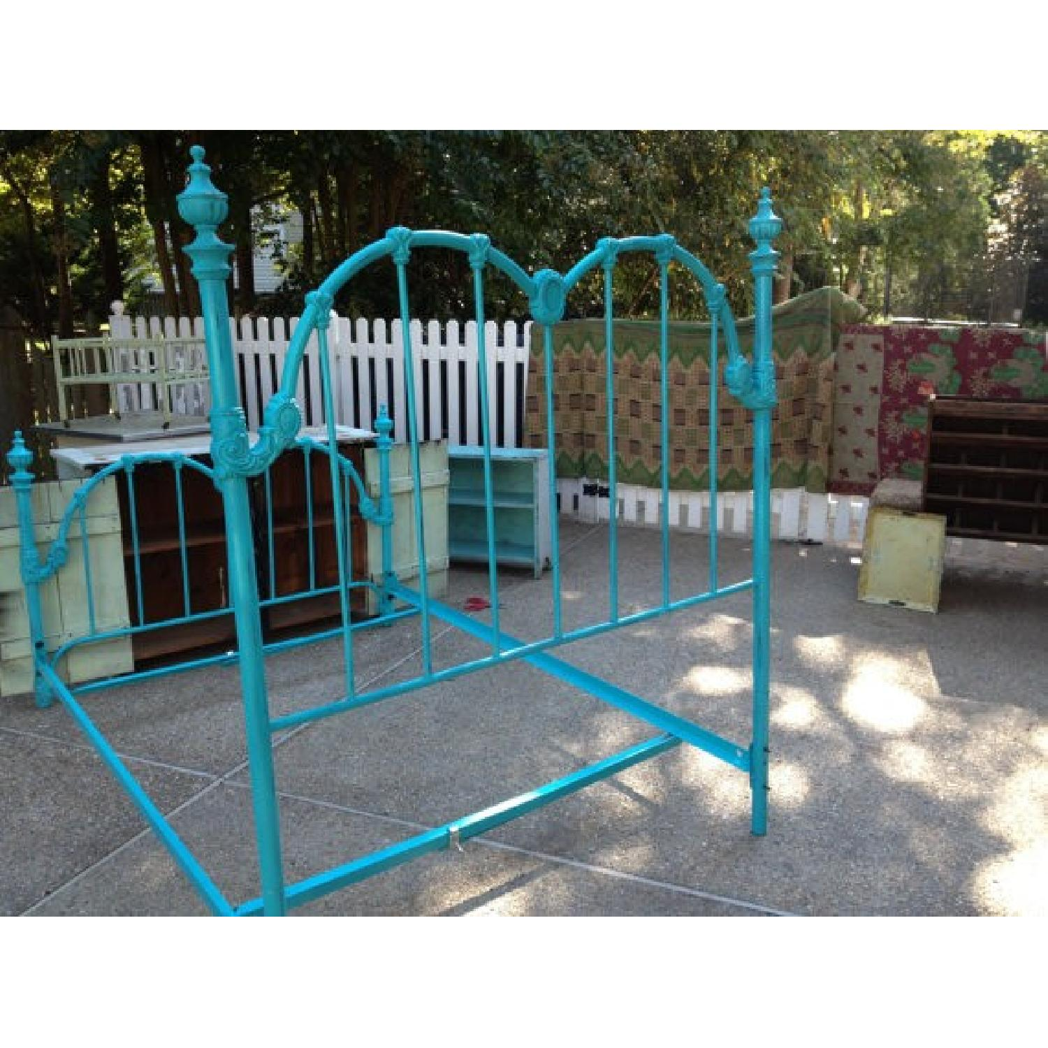 Full Sized Vintage Bed Frame - image-2