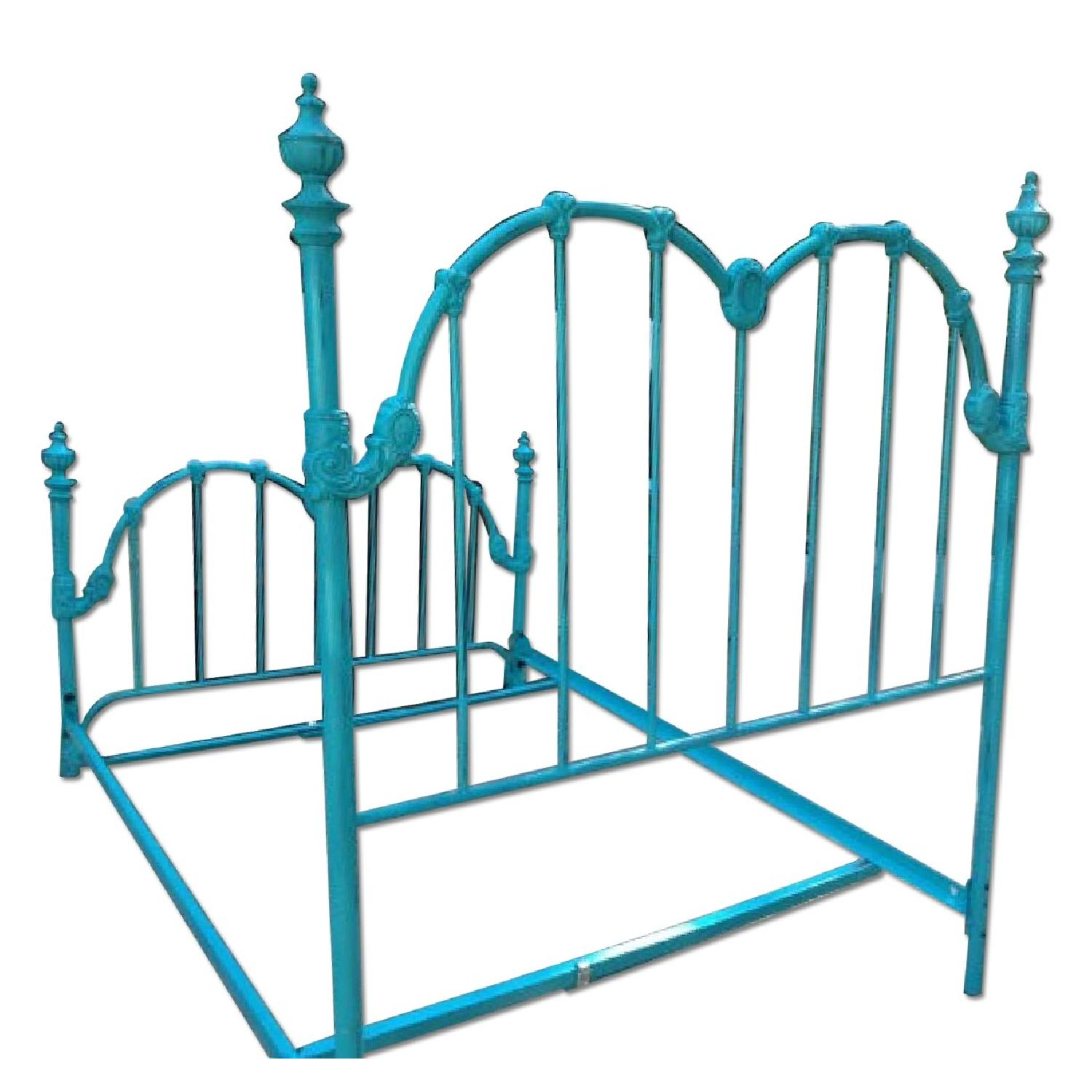 Full Sized Vintage Bed Frame - image-0