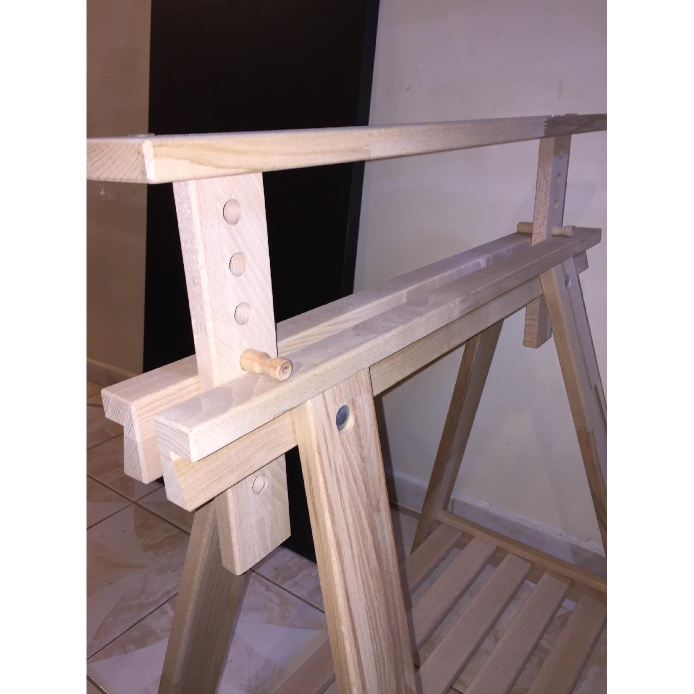 Ikea Finnvard Linnmon Desk - image-3