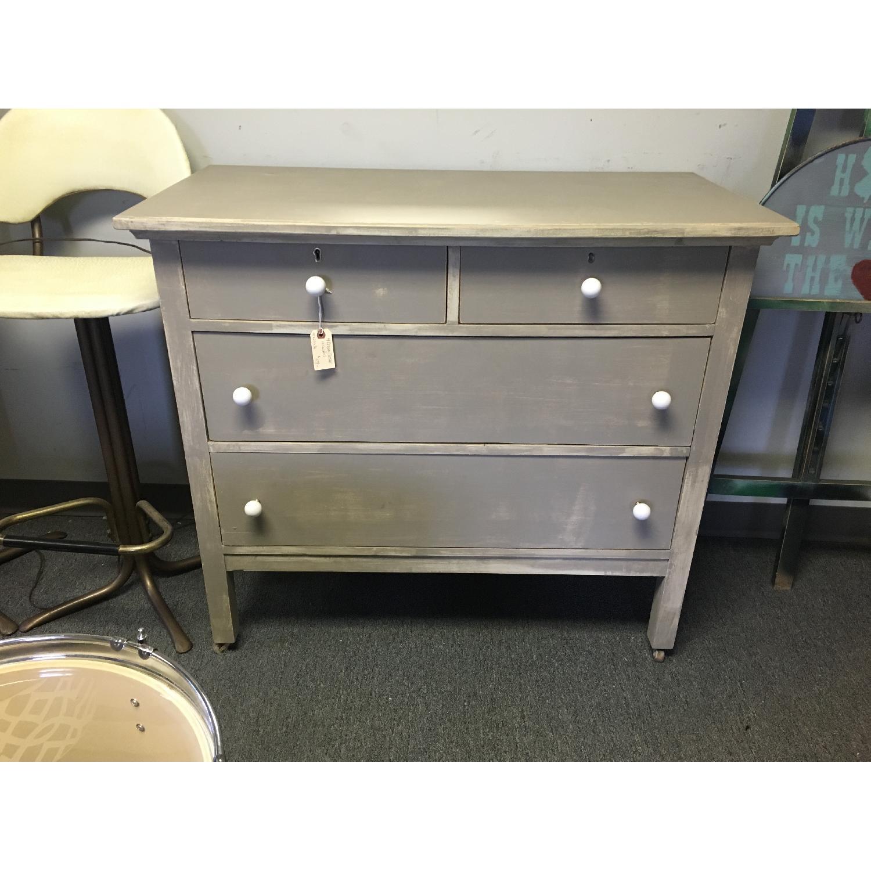 Antique Dresser on Casters - image-1