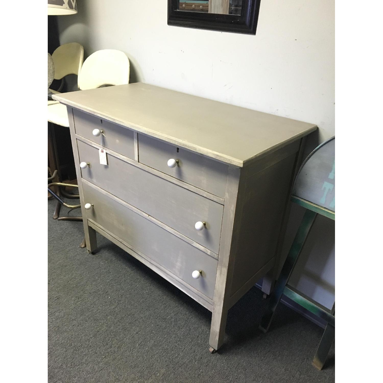 Antique Dresser on Casters - image-2