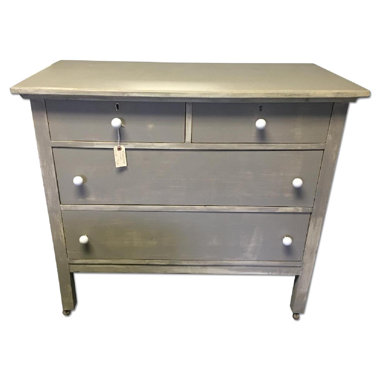 Antique Dresser on Casters - image-0