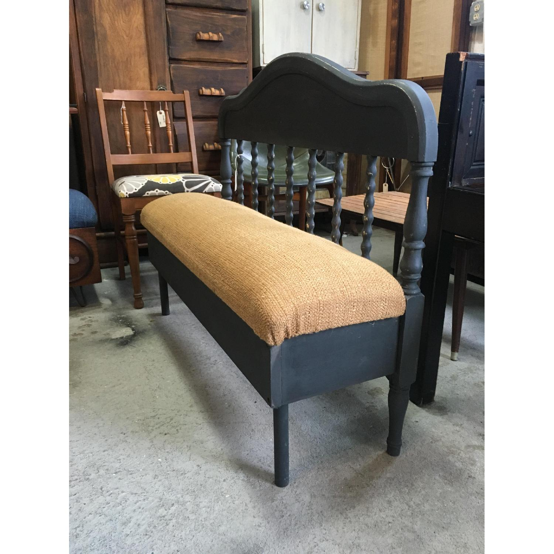 Antique Headboard Bench - image-3