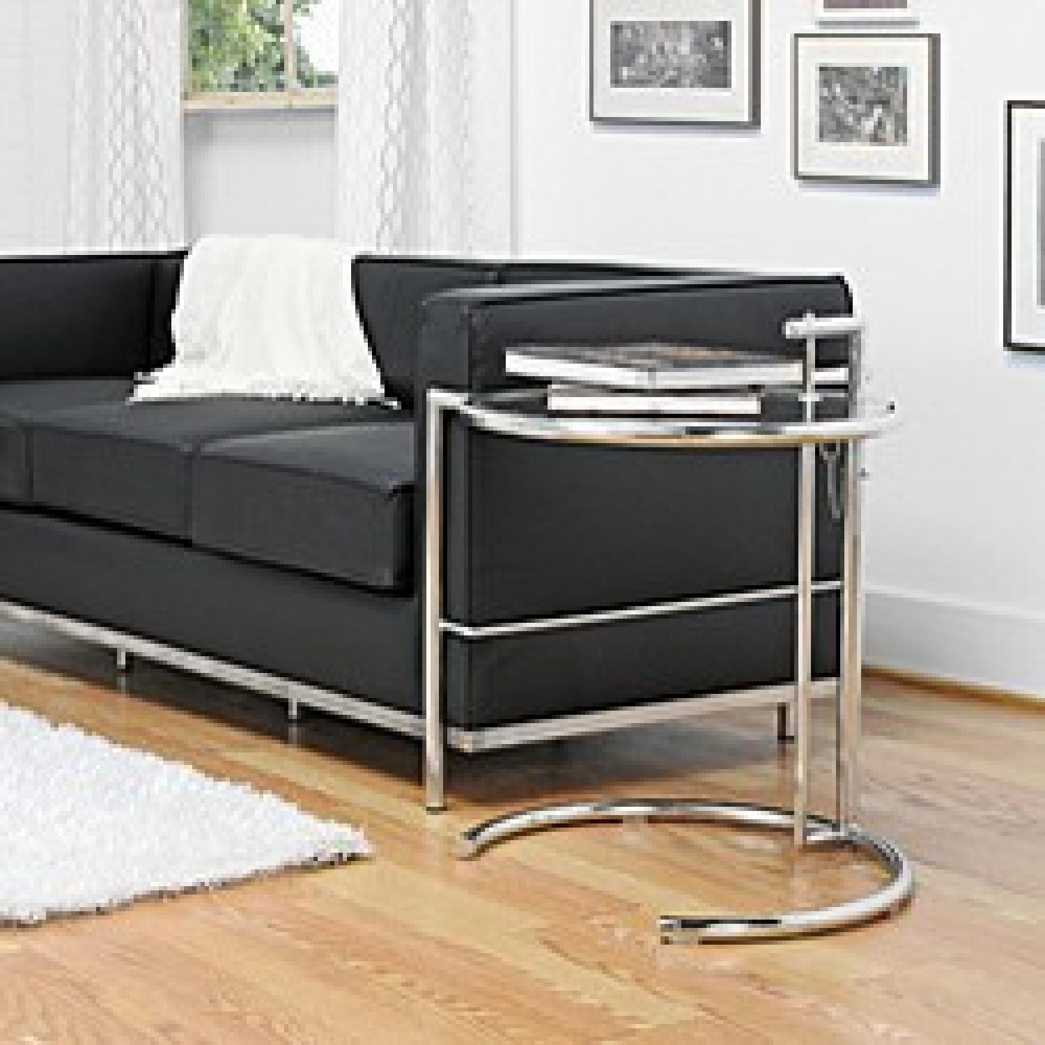 Eileen Gray Stainless Steel Accent Table - image-3