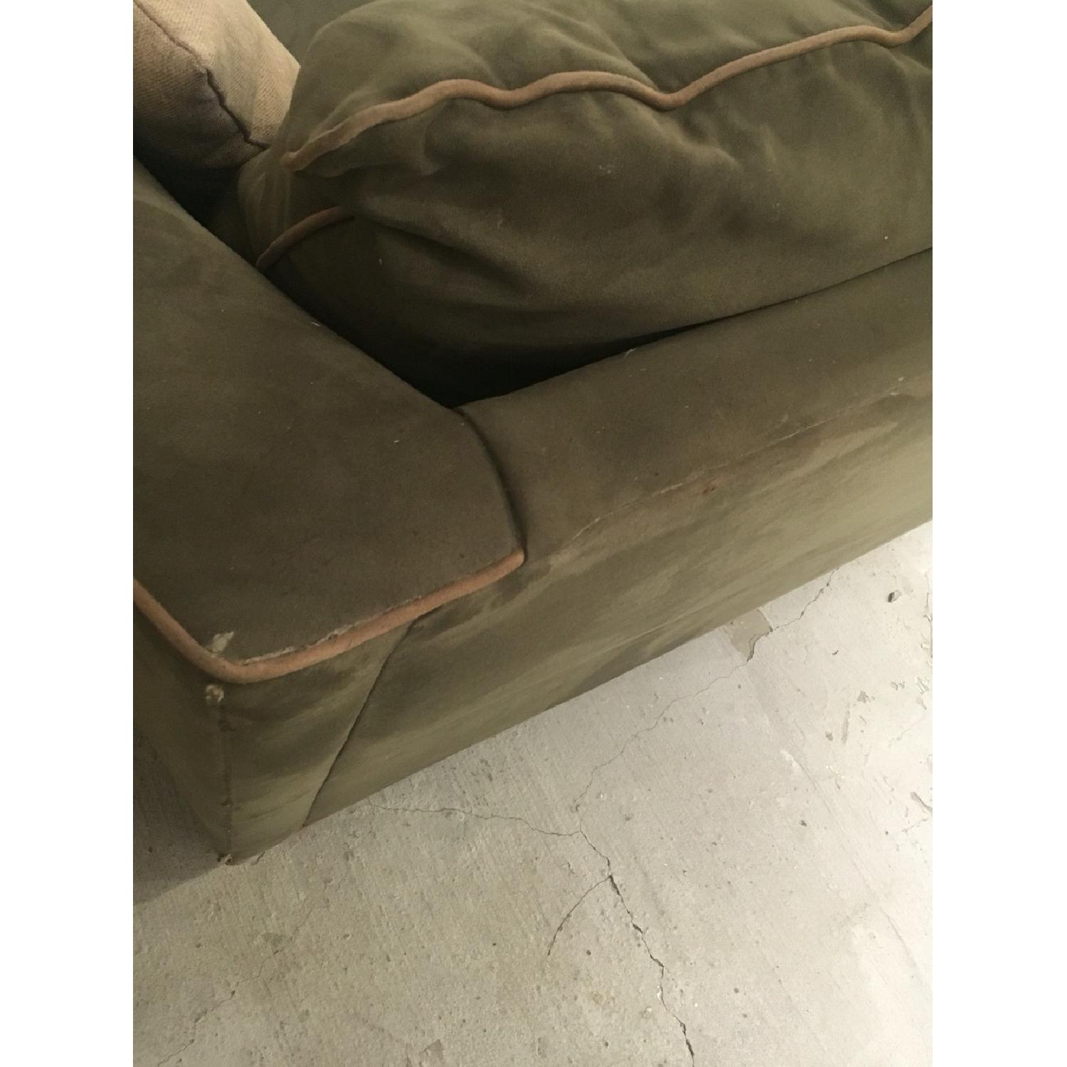 Green L Sectional Sofa - image-4