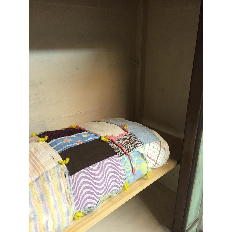 Shabby Chic Chippy Turquoise Buffet/China/Linen Storage - image-7