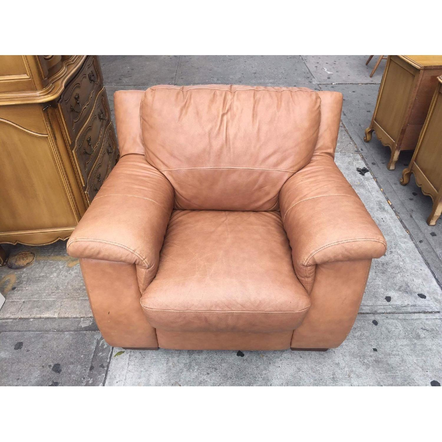 Leather Armchair - image-1