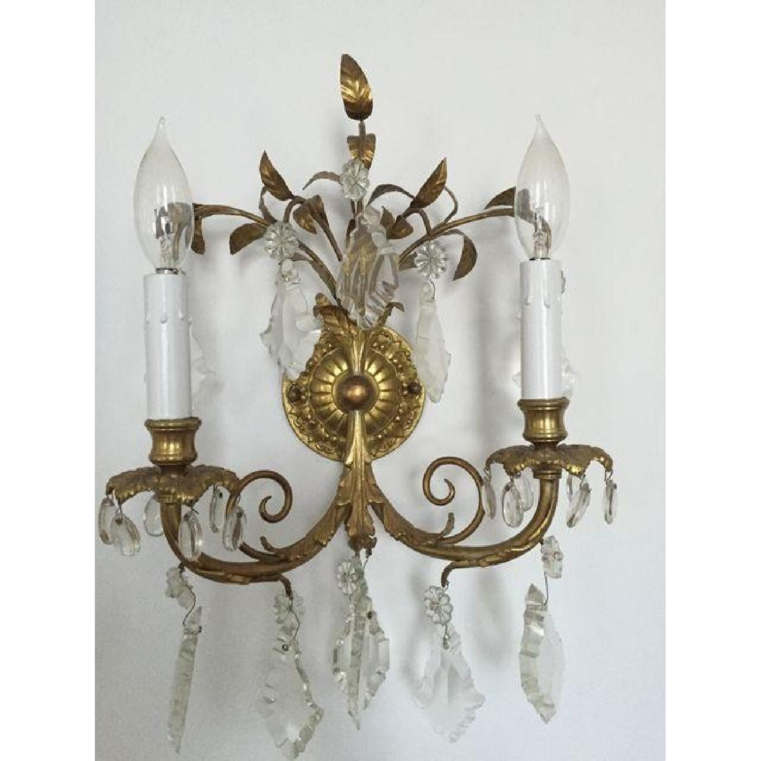 Antique French Wall Sconces - image-2