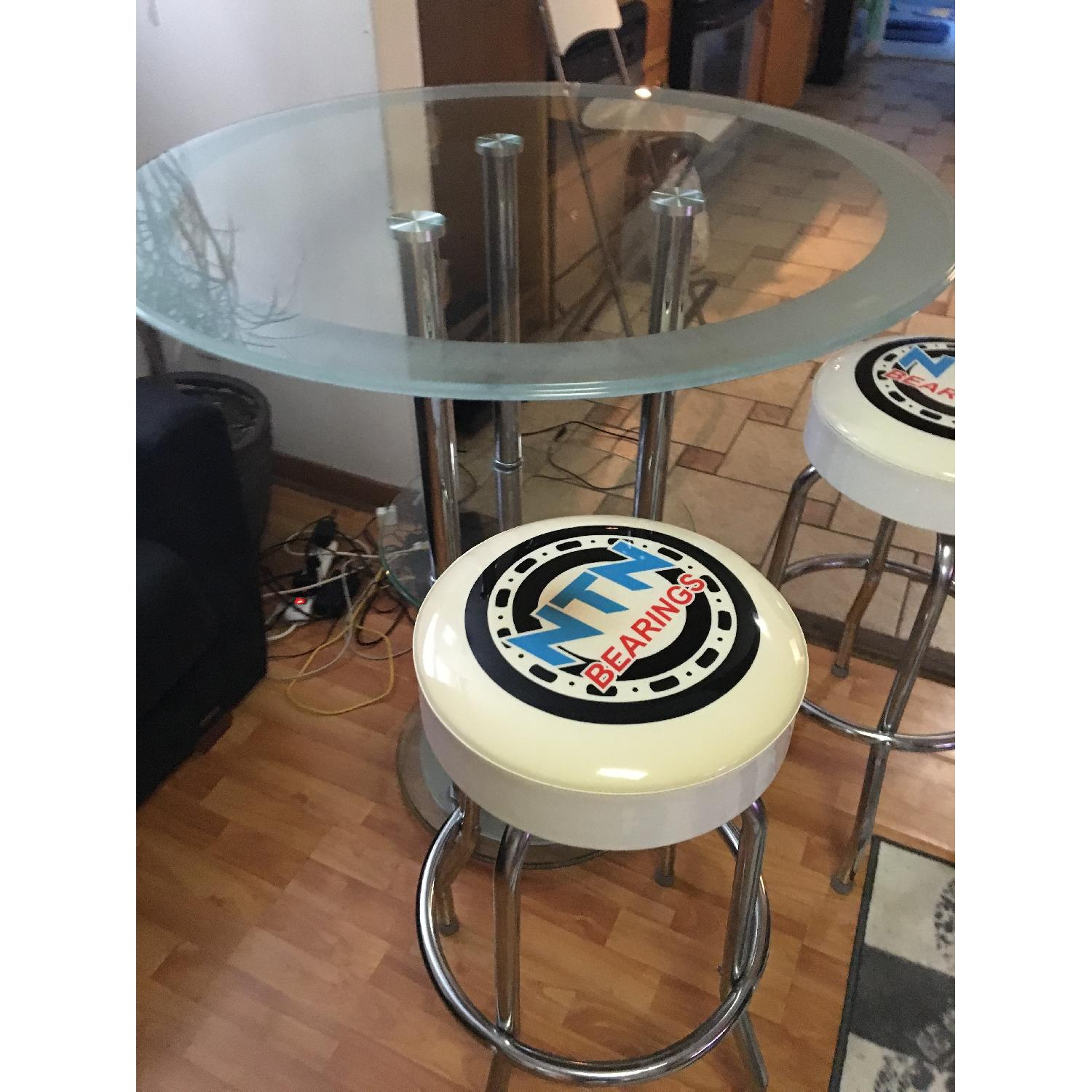 Bar Table w/ 2 Chairs - image-4
