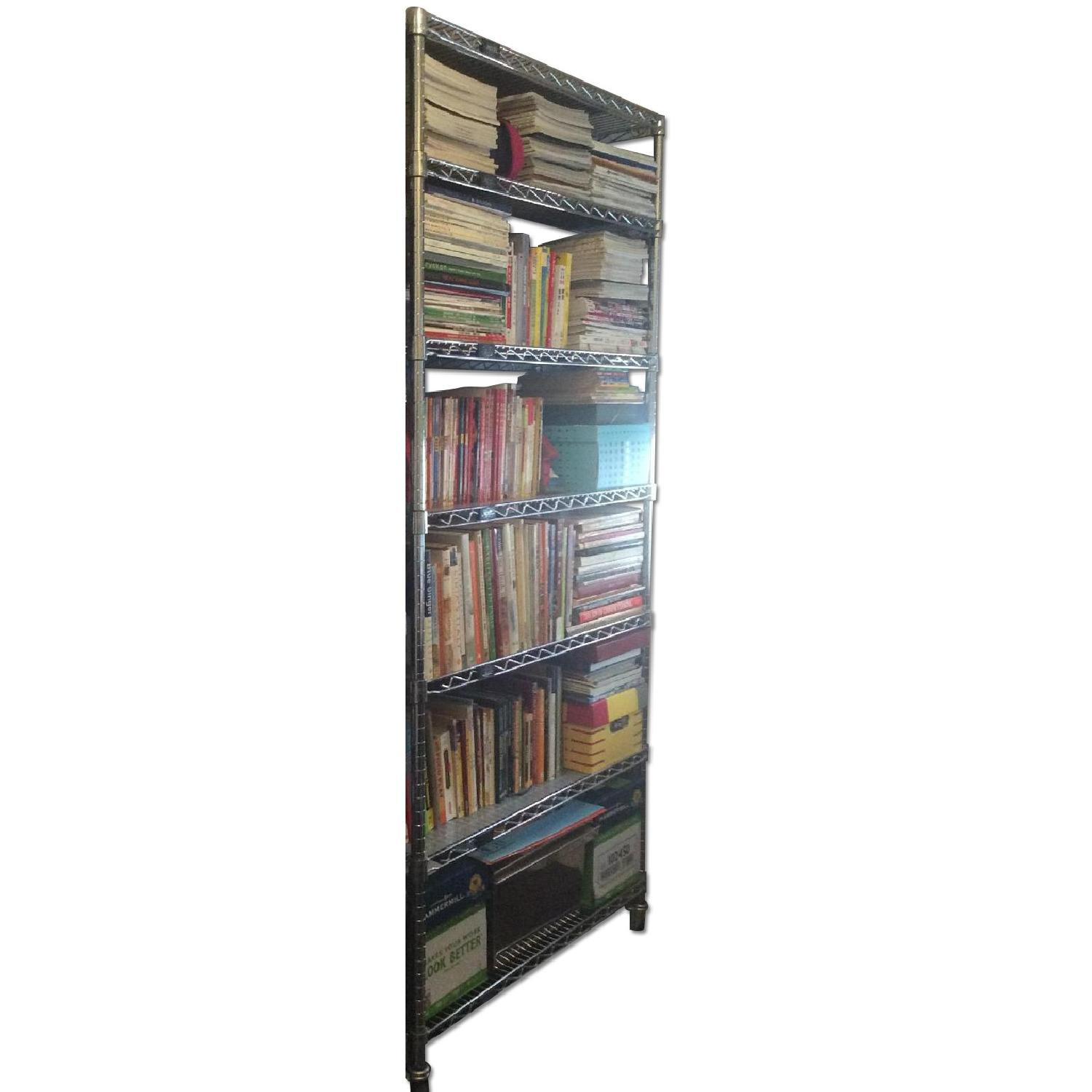 Chrome Wire Shelving - image-0
