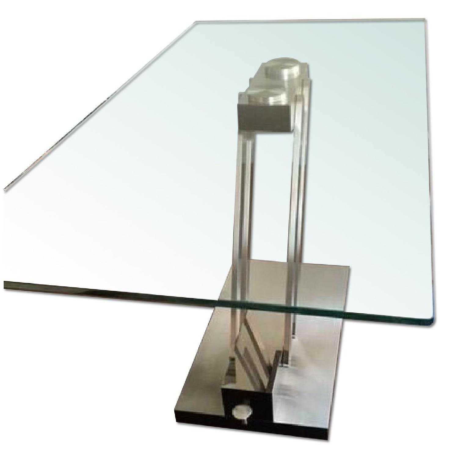 Z gallerie glass dining table aptdeco for Coffee tables z gallerie