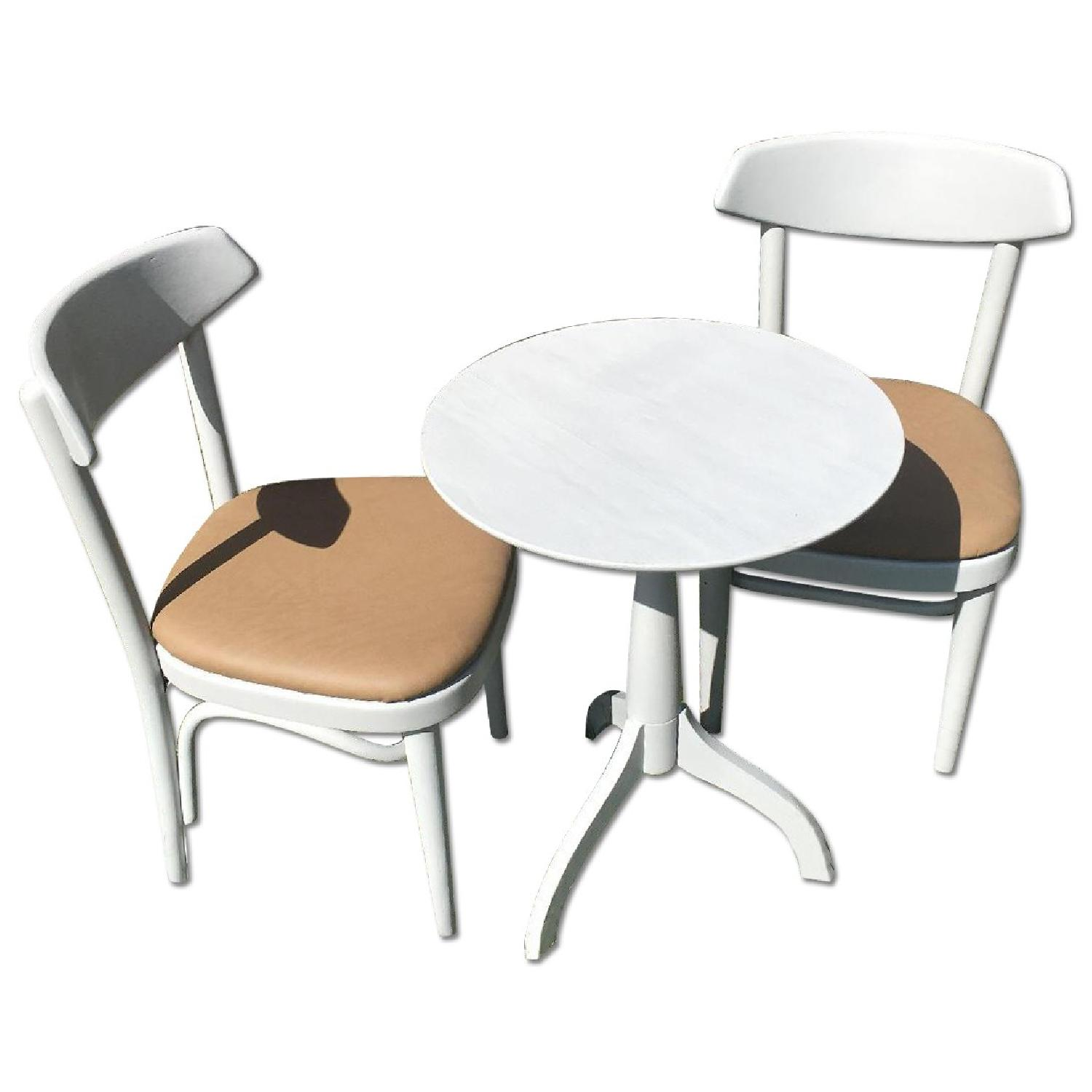 Dining Table w/ 2 Chairs - image-0