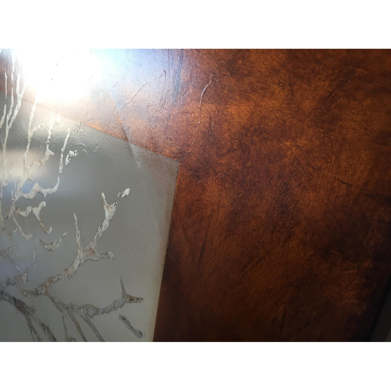 Pier 1 Hand Painted Simplicity Art Piece in Bronze - image-4