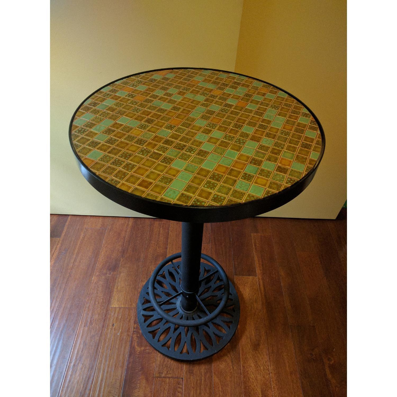 Tall Mosaic Table - image-1