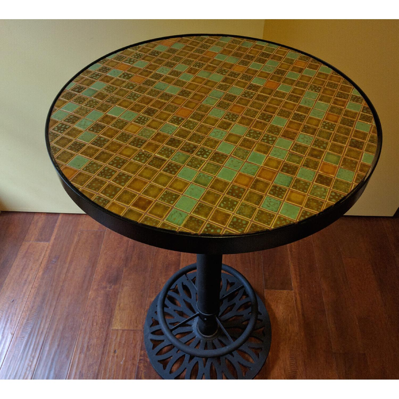 Tall Mosaic Table - image-4