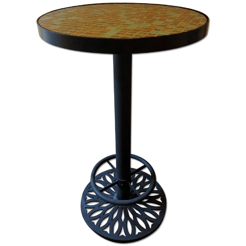 Tall Mosaic Table - image-0