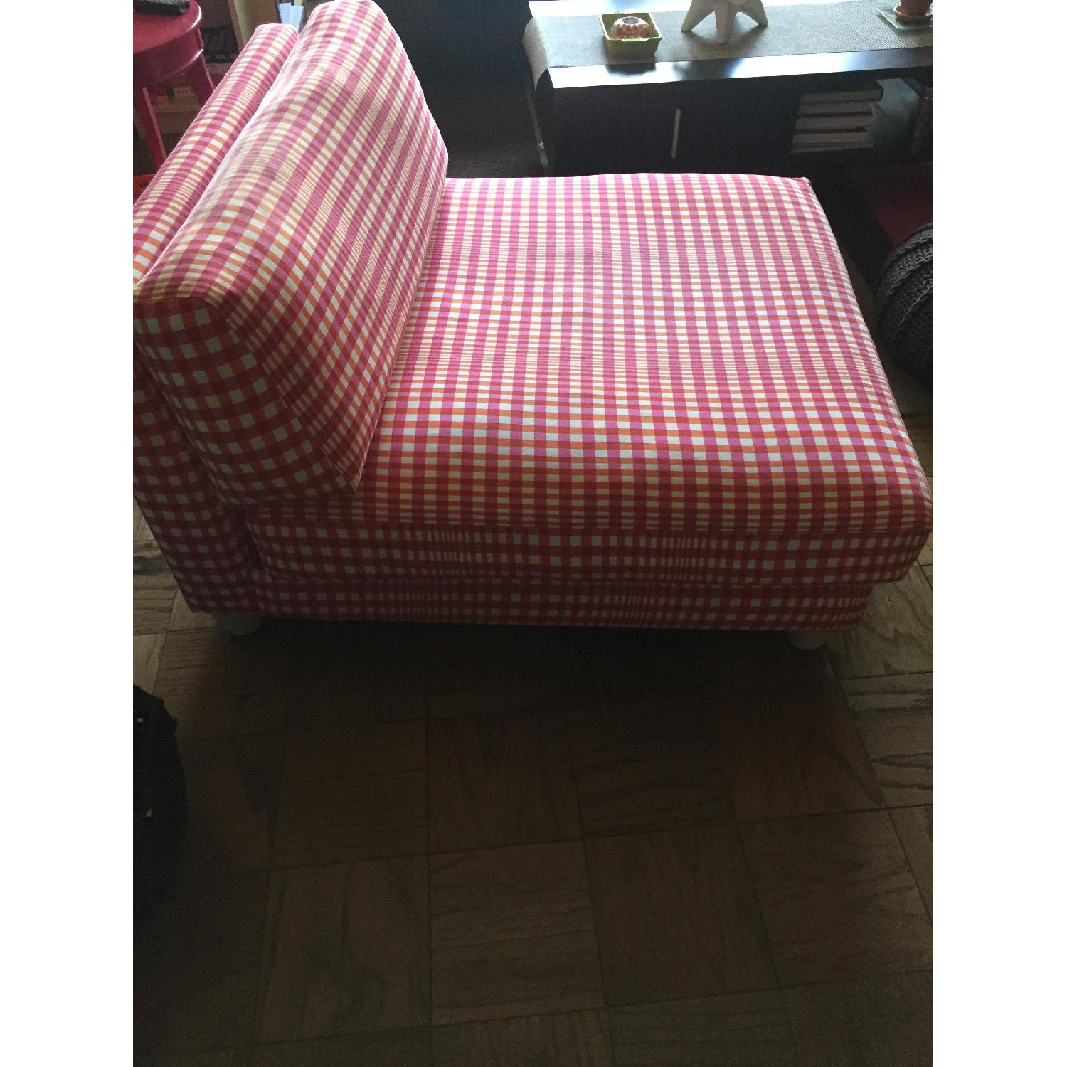 CB2 Piazza Gingham Chair - image-2