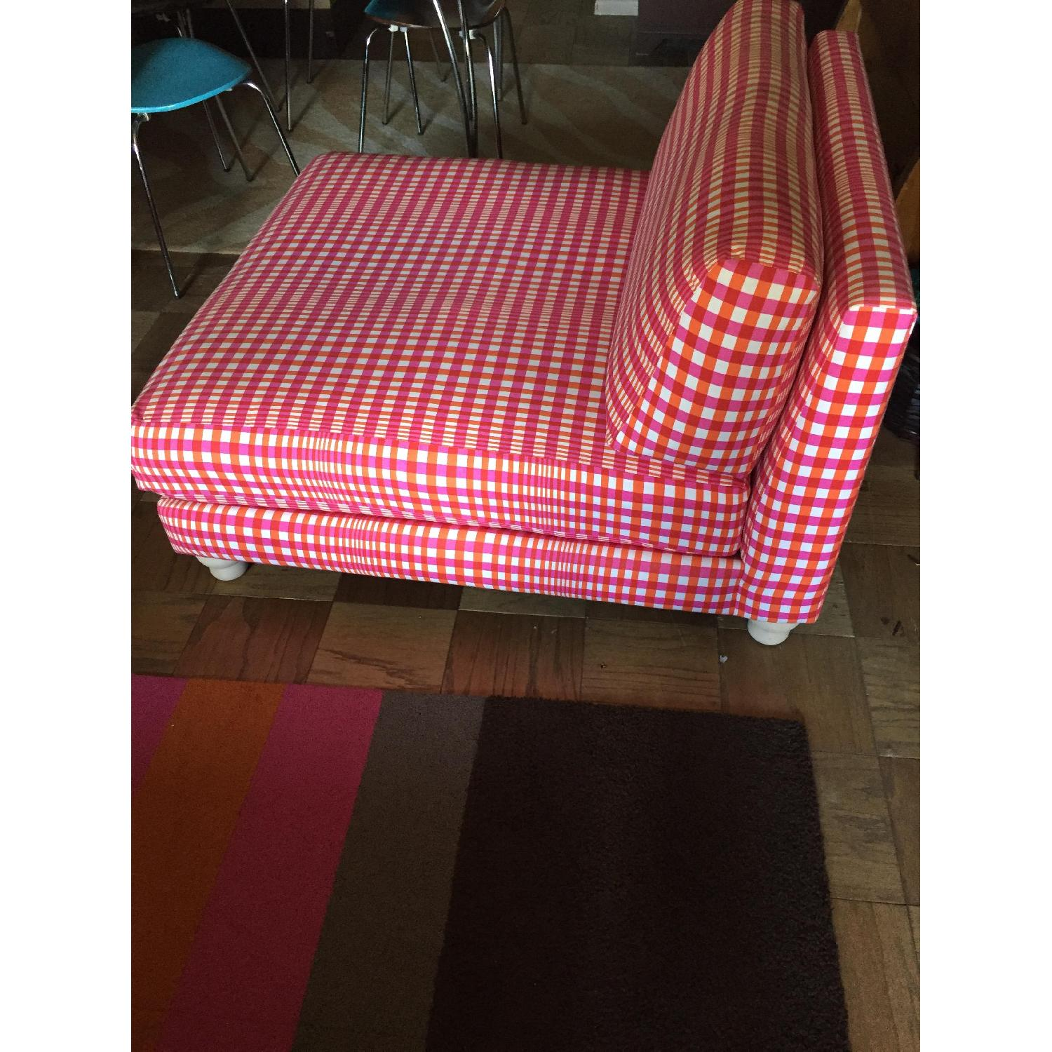 CB2 Piazza Gingham Chair - image-3