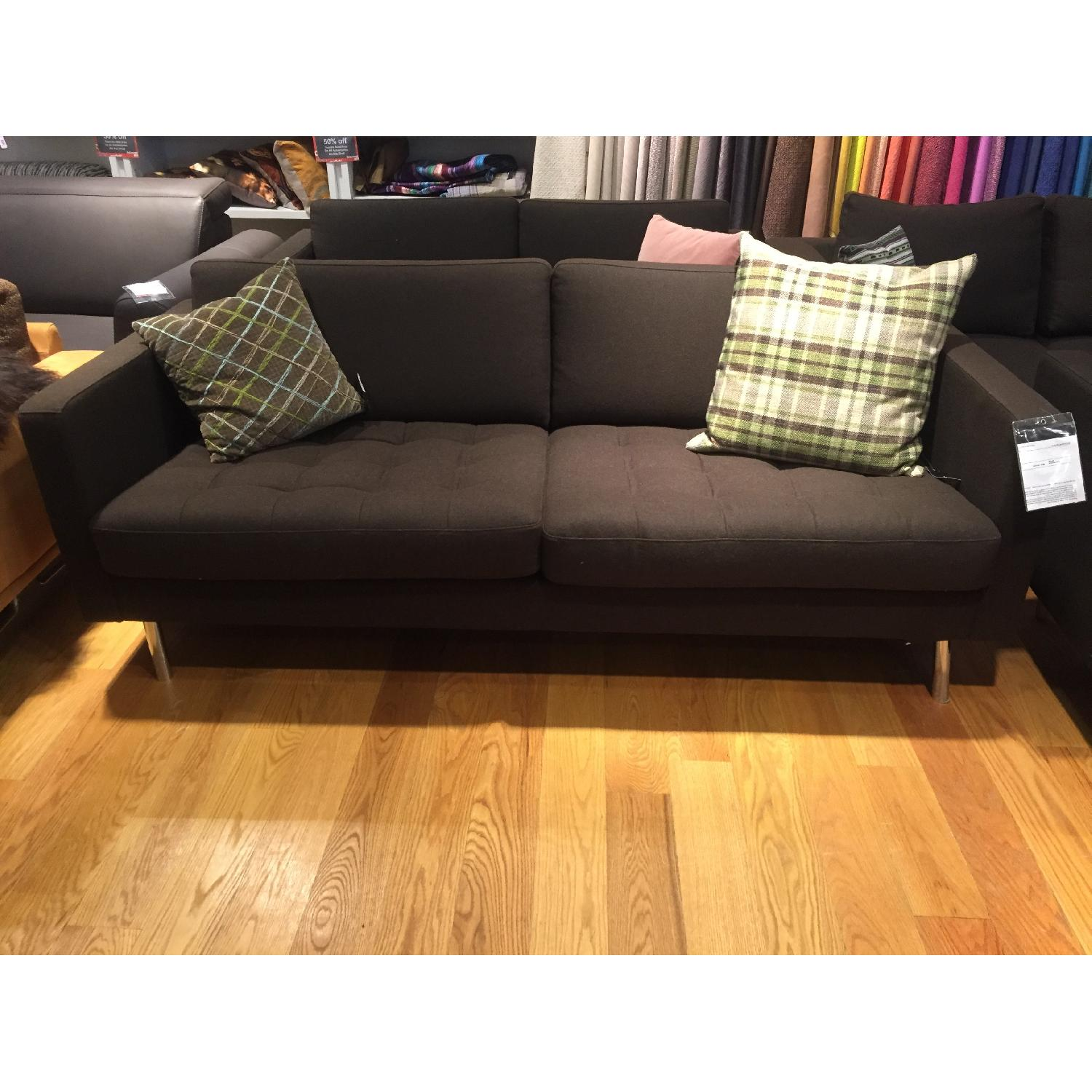 BoConcept Olympia Sofa in Chocolate Lux - image-1