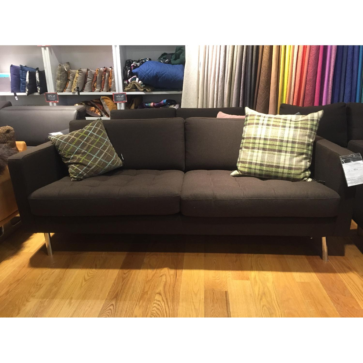 BoConcept Olympia Sofa in Chocolate Lux - image-2