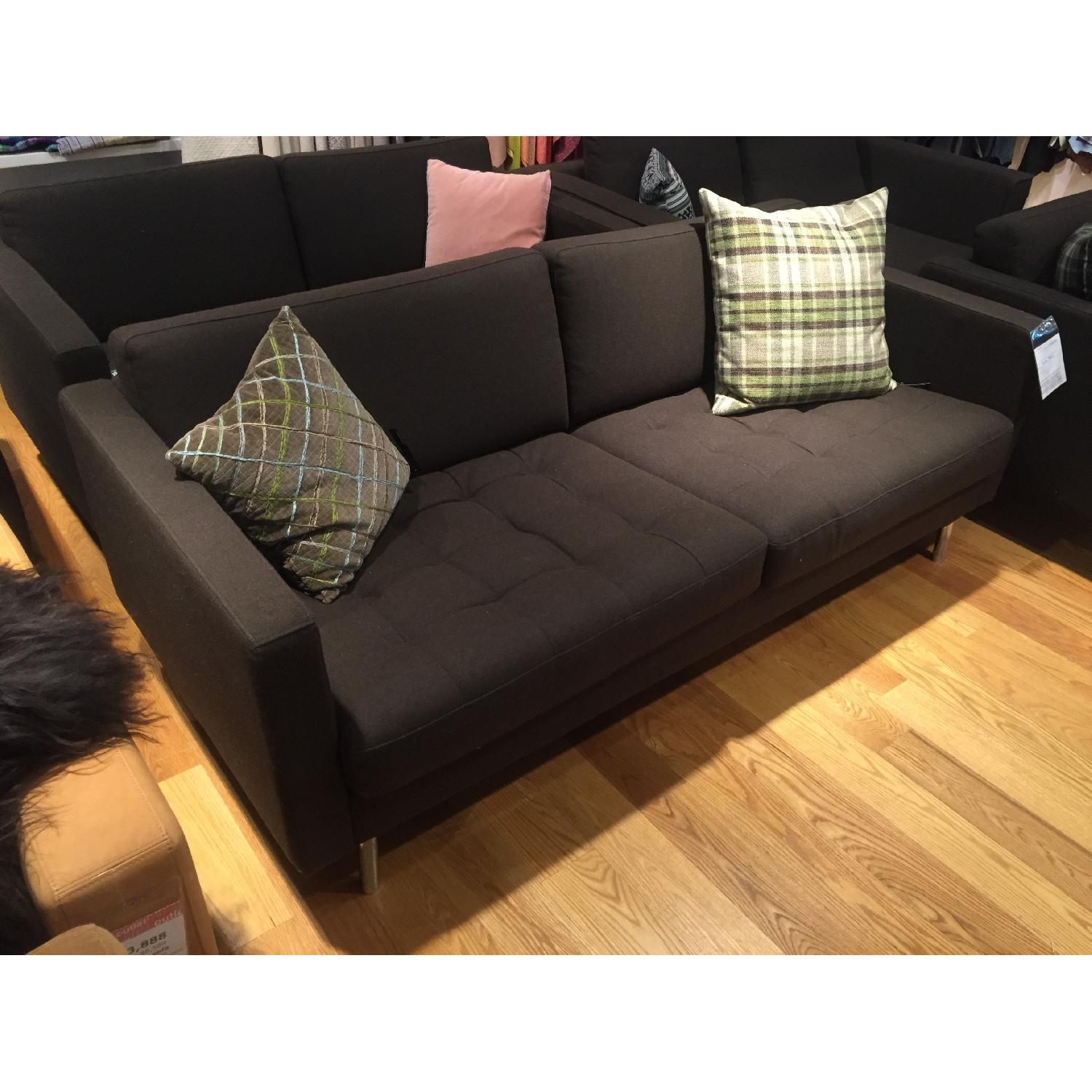 BoConcept Olympia Sofa in Chocolate Lux - image-3