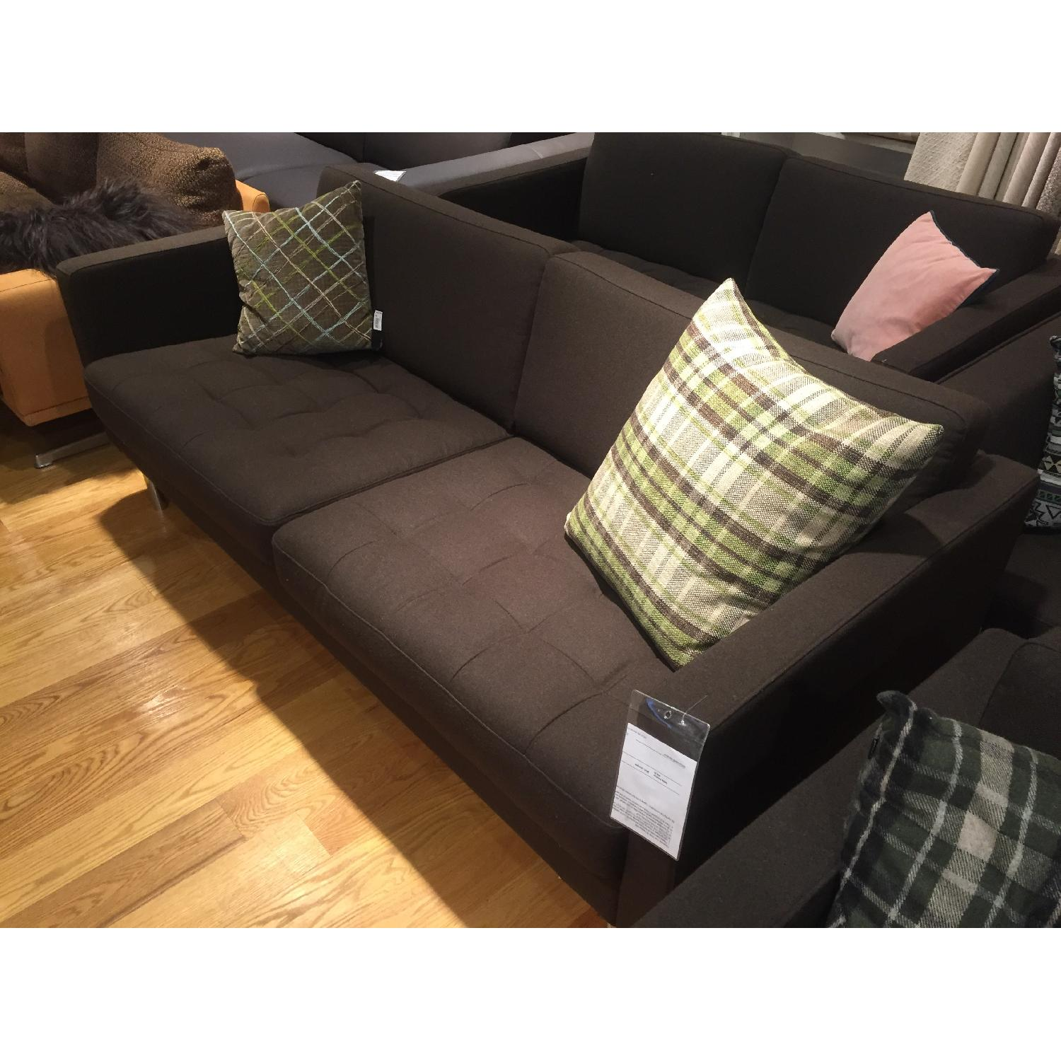 BoConcept Olympia Sofa in Chocolate Lux - image-4