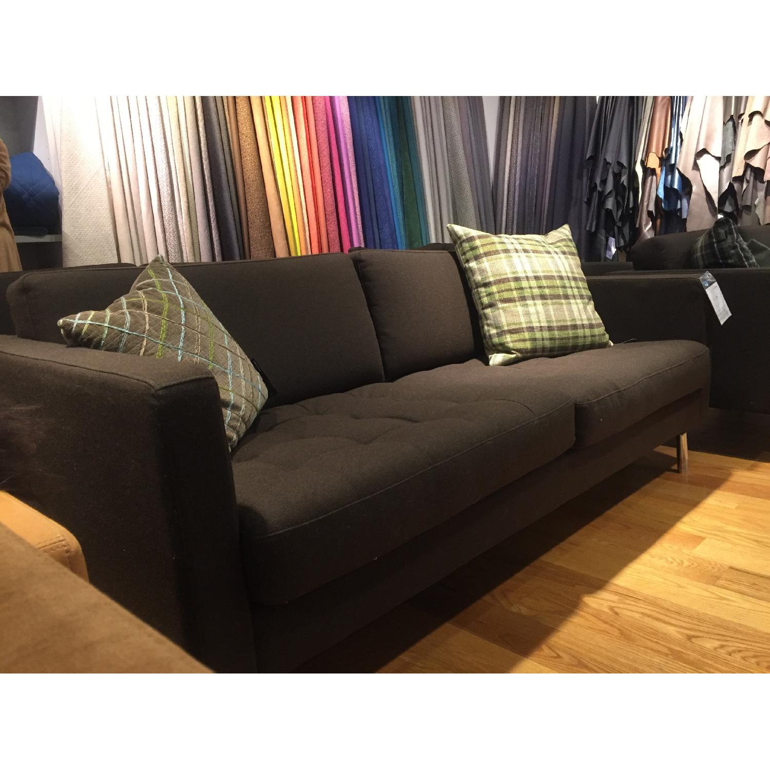 BoConcept Olympia Sofa in Chocolate Lux - image-7