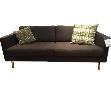 BoConcept Olympia Sofa in Chocolate Lux