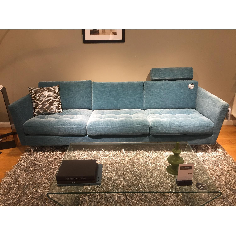 BoConcept Oasaka Sofa in Turquoise Napoli - image-1