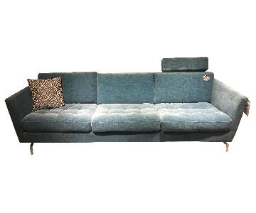 BoConcept Oasaka Sofa in Turquoise Napoli