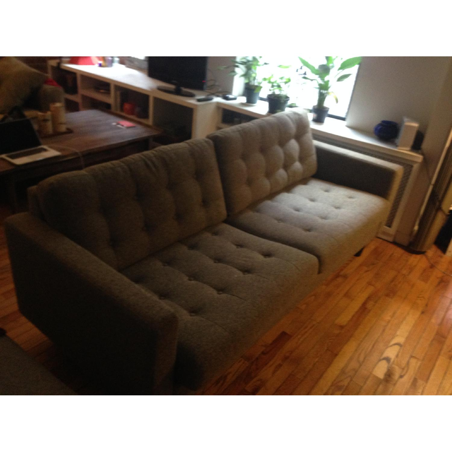 Modway Sofa in Oatmeal - image-1