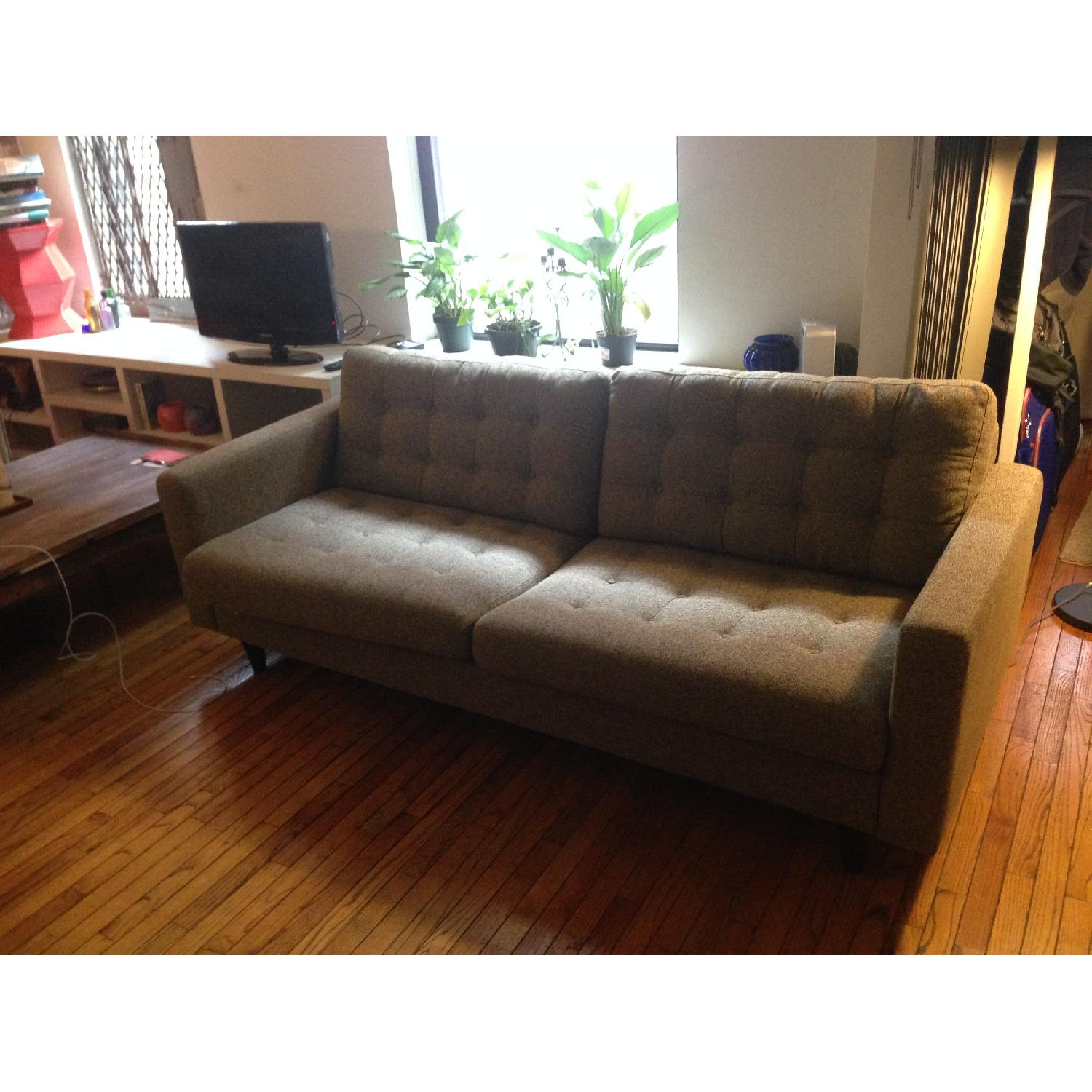 Modway Sofa in Oatmeal - image-2