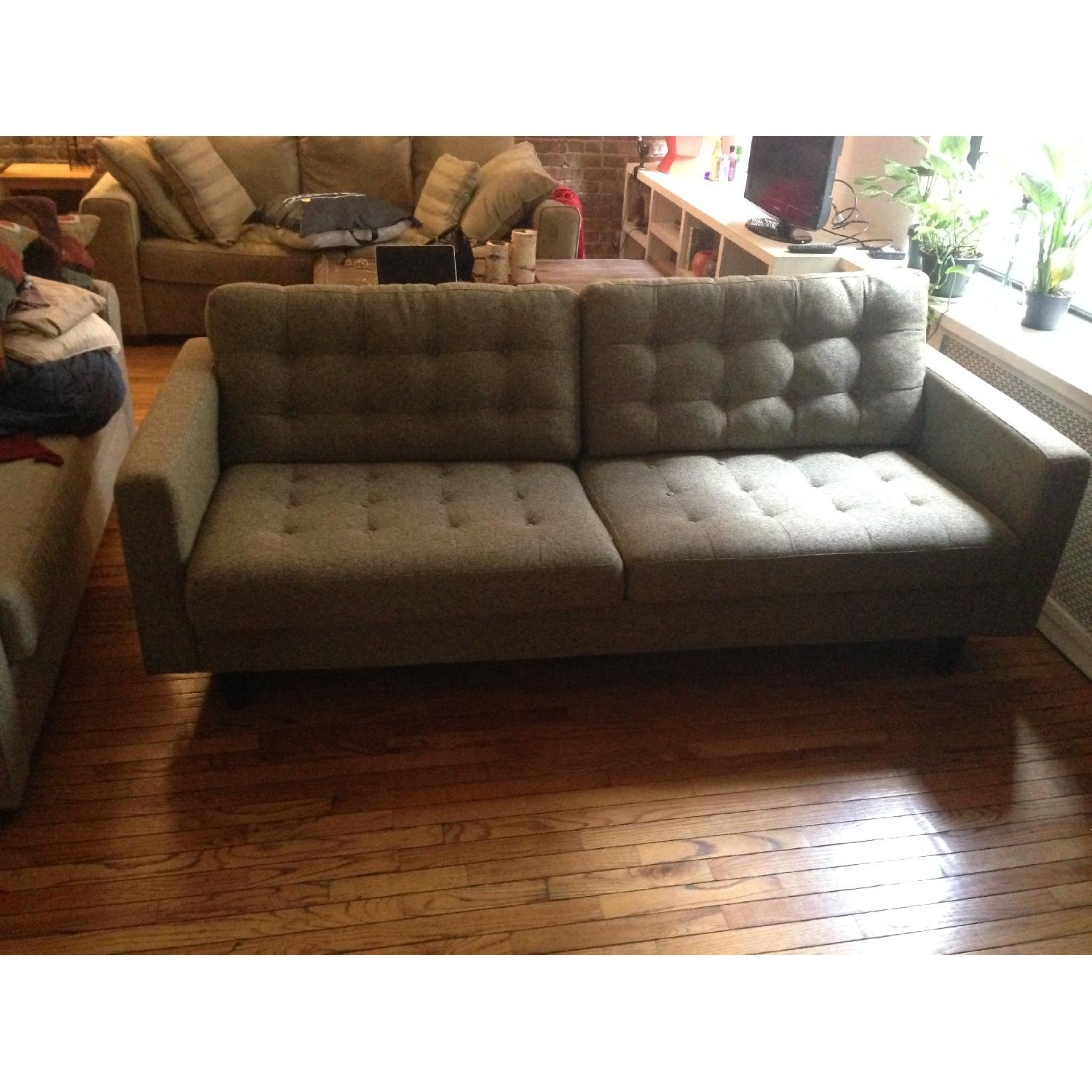 Modway Sofa in Oatmeal - image-3